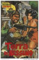 """45308 - CHARLES CHAPMAN """"TERRA DI NESSUNO"""" - Azione E Avventura"""