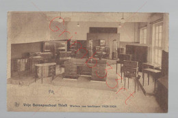 Vrije Beroepsschool Thielt - Werken Van Leerlingen 1928-1929 - Postkaart - Tielt