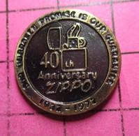 811h Pin's Pins / Beau Et Rare / THEME : MARQUES / BRIQUET USA ZIPPO 40th ANNIVERSARY 1932-1972 - Markennamen