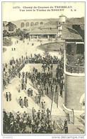 Tremblay En France. Champ De Courses Du Tremblay Et Viaduc De Nogent , Au Dos Timbre 10 Cent De La 18eme Olympiade 1924 - Tremblay En France