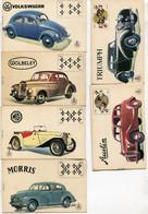 CARTES AU BON MARCHE VAXELAIRE-CLAES JEU 32 CARTES AVEC VOITURES ANNEES 1950 - COMPLET - Carte Da Gioco