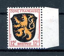 Franz. Zone Allg. Ausgaben MiNr. 6 Bz F Postfrisch Kurzbefund Wehner (1B545 - Französische Zone