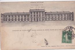 92 CLAMART 1918 Le Groupe Scolaire Du Centre - Clamart