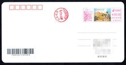 China Jiujiang Postage Machine Meter: Revolutionary Martyrs Wang Jingyan Memorial Hall - Lettres & Documents