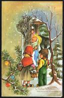 3591 - 3 D Weihnachten Glückwunsch Faltblatt - Krippe Weihnachtskrippe - Non Classificati