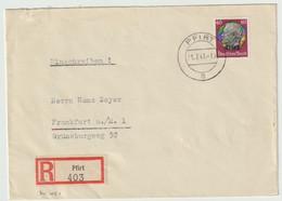 Sk1021 - Recommandé PFIRT - 1941 - Hindenburg Surchargé Elsass - FERETTE - - Alsace Lorraine