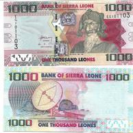 Sierra Leone 1000 Leones P 30 2013 UNC - Sierra Leone
