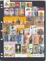 2019 Thailand Year Set Complete 44 Stamps + 4 Sheets Complete  MNH @ BELOW FACE VALUE!! - Thailand