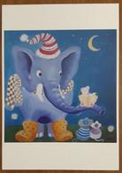 Mus Og Elefant Carte Postale - Advertising