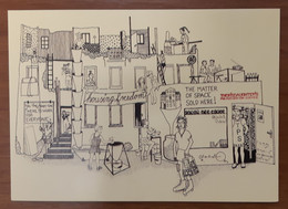 Bautafel Carte Postale - Advertising