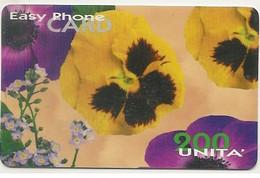 Scheda Telefonica INTERNAZIONALE EASY PHONE CARD 200 UNITA' Scadenza 30/12/2000 Usata - Unclassified
