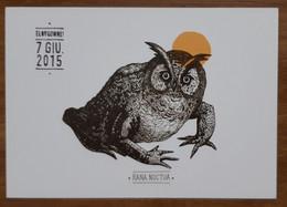 Rana Noctua Carte Postale - Advertising
