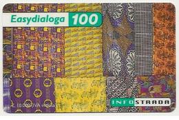 Scheda Telefonica EASY DIALOGA INFOSTRADA 100 UNITA' Scadenza 31-12-2000 Usata - Unclassified