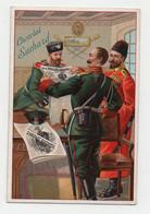 CHROMO Chocolat Suchard Russes Russie Militaria Militaires Journal - Suchard