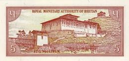 BHUTAN P. 14b 5 N 1985 UNC - Bhutan