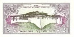 BHUTAN P. 13 2 N 1986 UNC - Bhutan