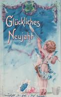 Angelot, Glückliches Neujahr, Litho (28.12.1902) - Nouvel An