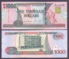 Guyana, 1.000 Dollars Pick 35, Signatur 12, Unc. - Guyana