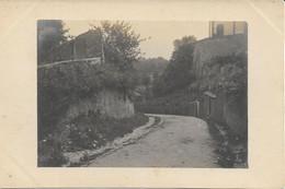 CPA - France - (85) Vendée - La Roche-Sur-Yon - Carte Photo - Rue D'Ecquebouille - La Roche Sur Yon