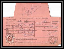 110524 Lettre Cover Avis De Reception Bouches Du Rhone N°517 Pétain 1942 Marseille République A3 - 1921-1960: Periodo Moderno