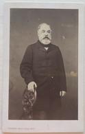 CDV. Portrait D'un Homme. Photographe Trantoul Père & Fils. Toulouse. France. - Oud (voor 1900)