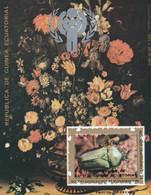 GUINEE EQUATORIALE - Centenaire De L'indépendance, Bouquet De Fleurs, Insecte - MNH - Äquatorial-Guinea