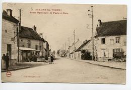 51 JALLONS Les VIGNES Villageois Route Nationale De Paris à Metz écrite En 1919   D07 2019 - Other Municipalities