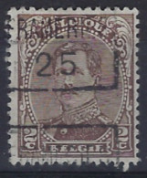 Albert I Nr. 136 Type III Voorafgestempeld Nr. 3424 C FRAMERIES 25 ; Staat Zie Scan ! - Roller Precancels 1920-29