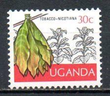 OUGANDA. N°99 De 1975. Tabac. - Tabak