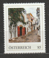 Österreich Personalisierte BM Reise Durch Spanien UNESCO Weltkulturerbe Altstadt Von Ibiza ** Postfrisch - Private Stamps