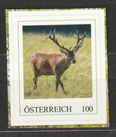 Österreich Personalisierte BM Tiere In Der Au Rothirsch ** Postfrisch - Private Stamps