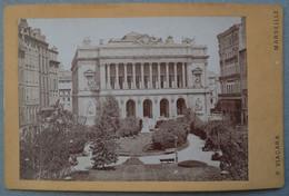 Photo Albuminé Marseille La Bourse Vers 1870/80 - Anciennes (Av. 1900)