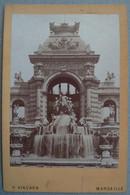 Photo Albuminé Marseille Palais Longchamps Vers 1870/80 - Anciennes (Av. 1900)