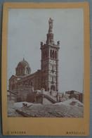 Photo Albuminé Marseille Notre Dame Vers 1870/80 - Anciennes (Av. 1900)