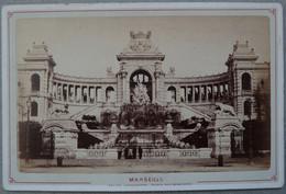 Photo Albuminé Marseille Palais Longchamp Vers 1870/80 - Anciennes (Av. 1900)