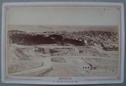 Photo Albuminé Marseille Panorama Sur Sur Le Château D'If Vers 1870/80 - Anciennes (Av. 1900)