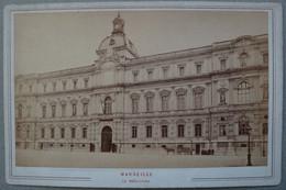 Photo Albuminé Marseille La PréfectureVers 1870/80 - Anciennes (Av. 1900)