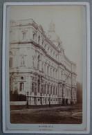 Photo Albuminé Marseille La Préfecture Vers 1870/80 - Anciennes (Av. 1900)