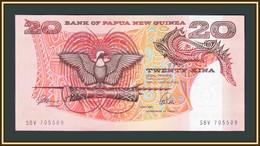 Papua New Guinea 20 Kina 1989-1992 P-10 (10a) UNC - Papua New Guinea