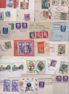 ITALIA ITALIE ITALY - Lot Varié De 329 Enveloppes Timbrées Timbres Lettres Stamp Air Mail Covers Lettera Francobollo - Non Classés