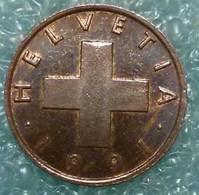 Switzerland 1 Rappen, 1991   -4856 - Suisse