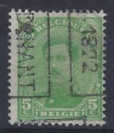 Koning Albert I Nr. 137 Type IV Voorafstempeling Nr. 2837 B   DINANT 1922   ; Staat Zie Scan ! - Roller Precancels 1920-29