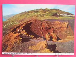 Visuel Très Peu Courant - Espagne - Iles Canaries - Isla De San Miguel De La Palma - Fuencaliente - R/verso - La Palma