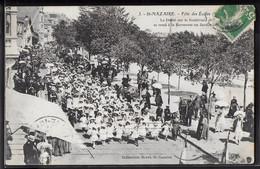 CPA 44 - Saint Nazaire, Fête Des Ecoles - Défilé Sur Le Boulevard - Saint Nazaire