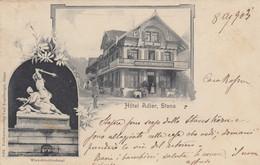 Svizzera - Nidwald  - Stans  - Hotel Adler  - F. Piccolo - Viagg - Bella Animata - NW Nidwald