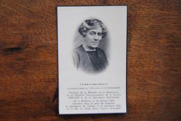 5422/Marie CAMBRON -Médaille Résistance Guerre 40/45 Hodister 30/1/86-Chéoux 27/12/56 - Décès
