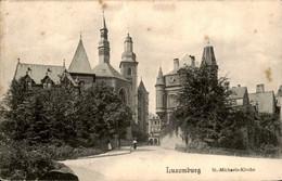 Luxemburg Luxembourg - St Michaels Kirche - 1908 - Unclassified