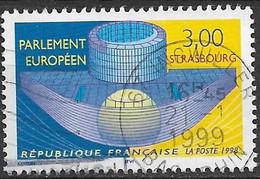 1998 Frankreich Mi. 3349 Used    Neues Gebäude Des Europaparlamentes In Straßburg. - Gebruikt