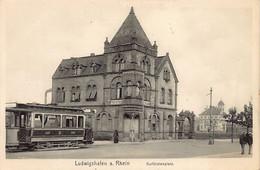 Ludwigshafen Am Rhein (RP) Kurfürstenplatz Tram Verlag Joh. Baldauf Ludwigshafen - Ludwigshafen