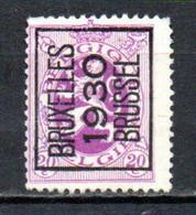 PREO 243 Op Nr 281 BRUXELLES 1930 BRUSSEL - Positie A - Typo Precancels 1929-37 (Heraldic Lion)